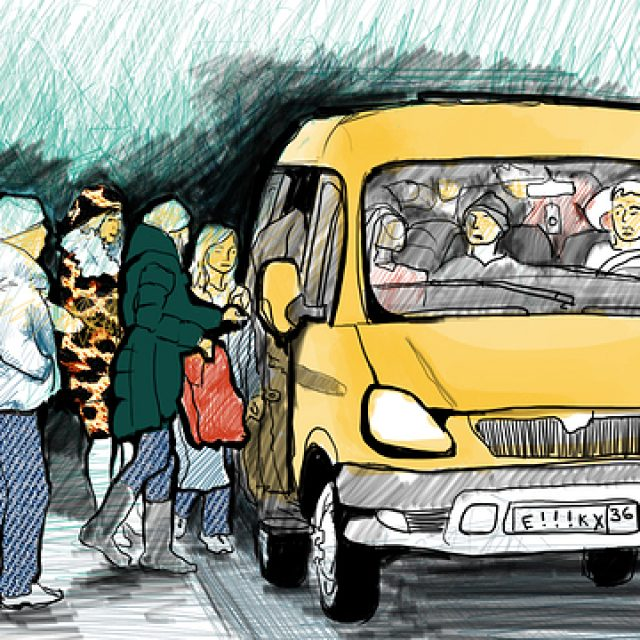 Прикольные рисунки на автобусах