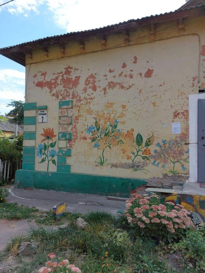 Исчезающая красота: в Днепре местная жительница засняла картины, которые пропадают со стен города (Фото)